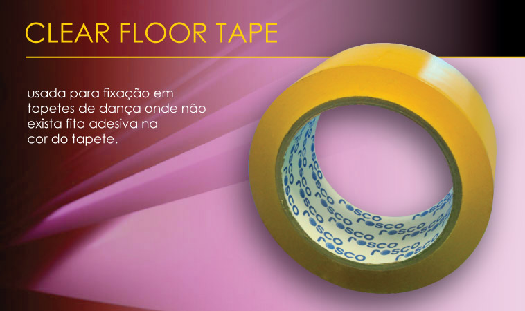 Clear Floor Tape