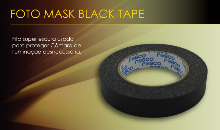 Foto Mask Black Tape